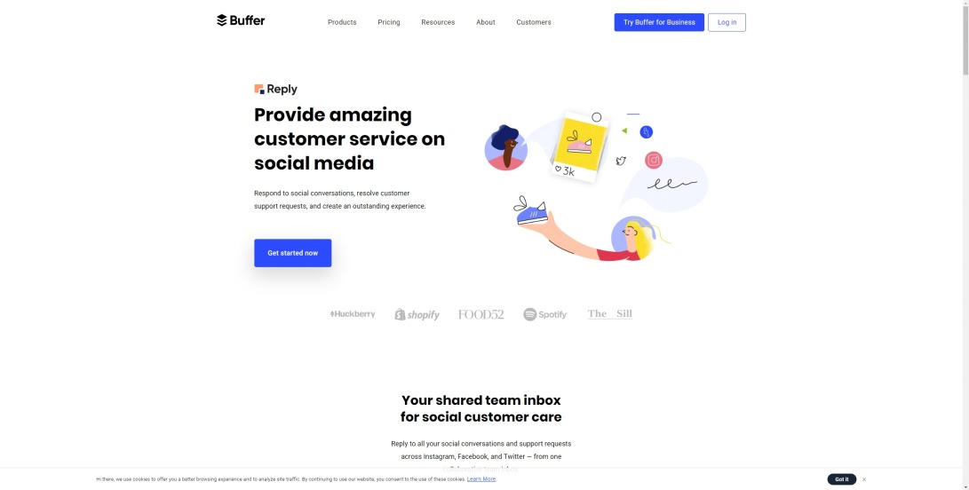 Buffer | Social Media Customer Service Software for Growing Brands