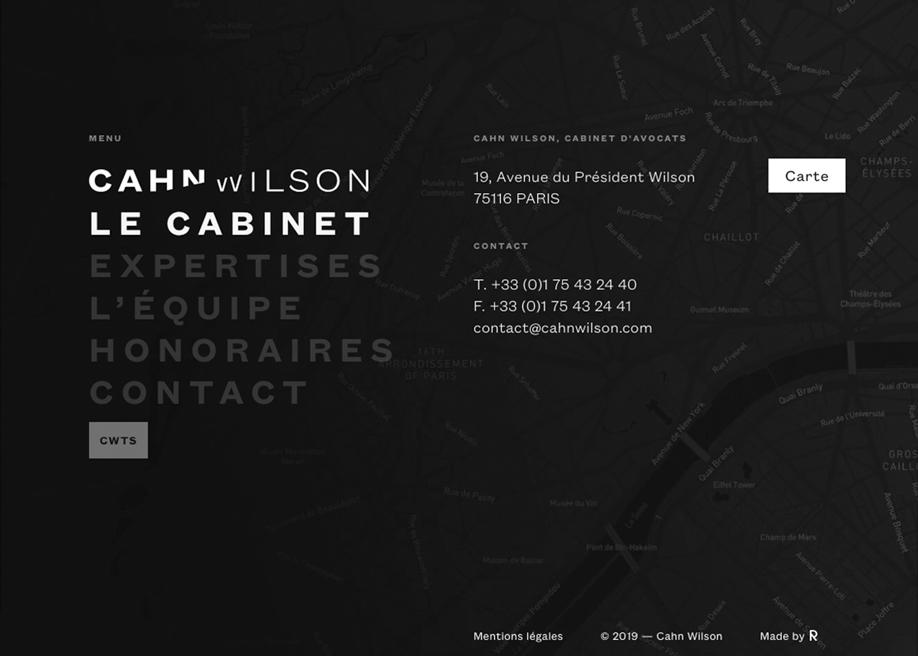 Footer - Cahn Wilson
