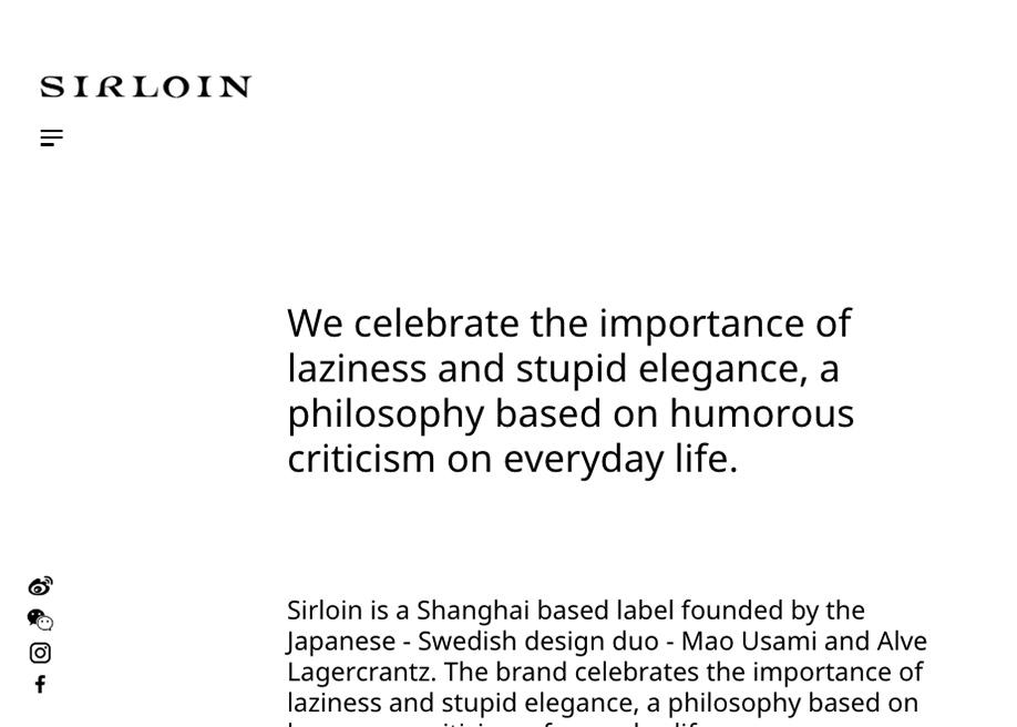 Sirloin brand personality