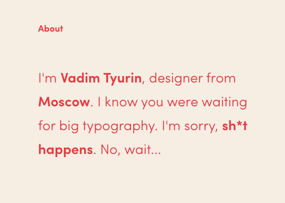 Vadim Tyurin - portfolio