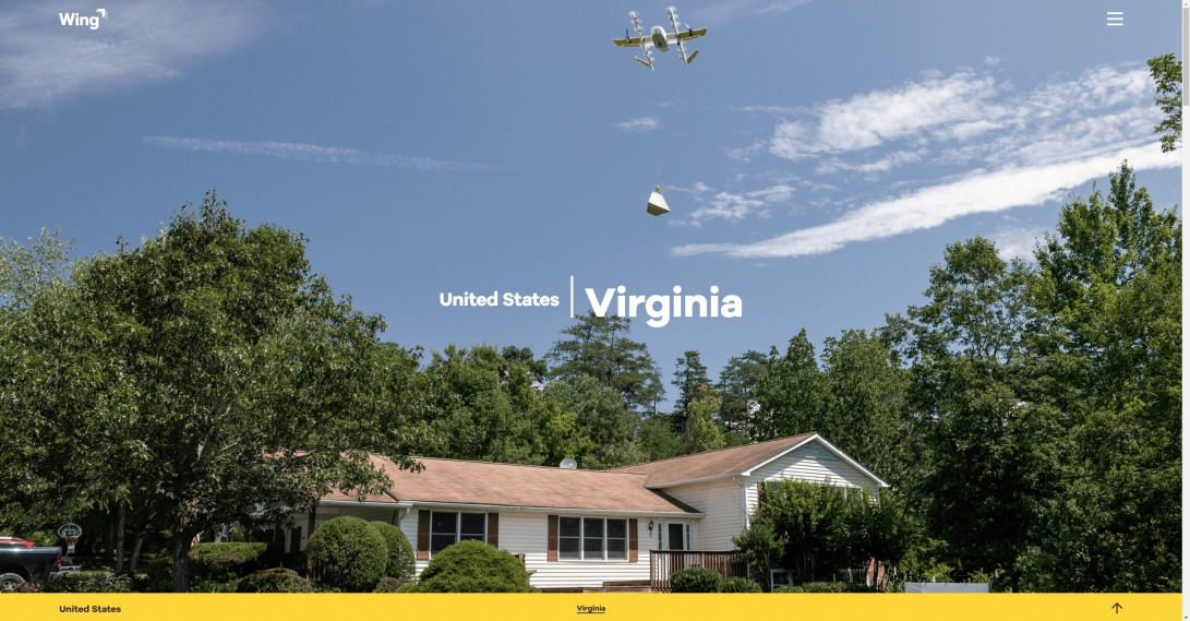 Virginia – United States – Wing