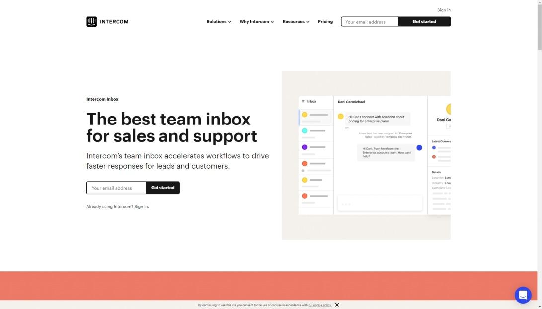 Team Inbox for Customer Communication Management   Intercom