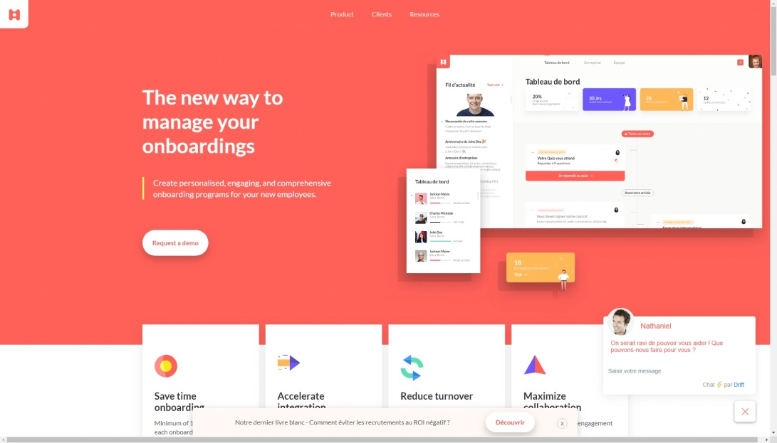 HeyTeam - The new way to manage your onboardings