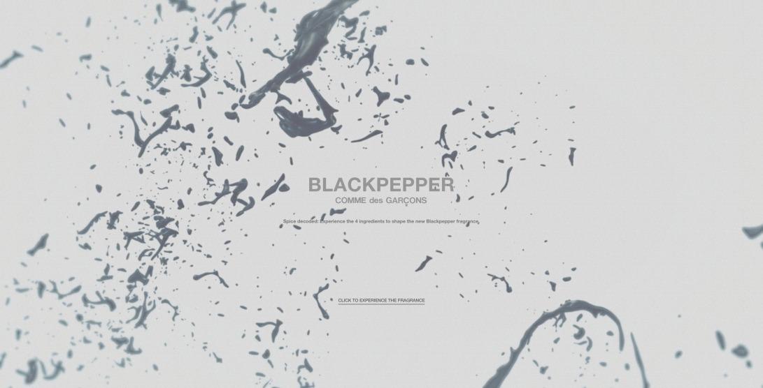 COMME des GARÇONS PARFUMS - BLACKPEPPER