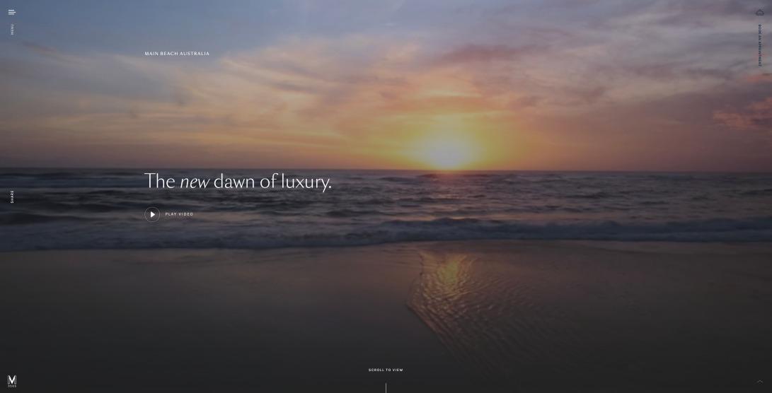 The New Dawn of Luxury   M3565 Apartments, Main Beach, Queensland, Australia