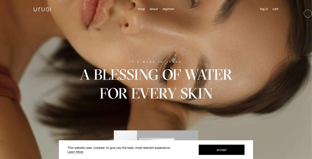 uruoi | Japanese skincare since 1989