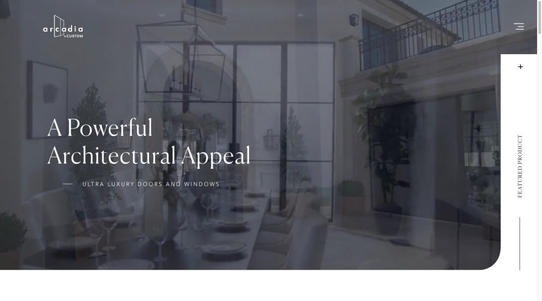 Arcadia Custom | High Performance Luxury Home Windows and Doors