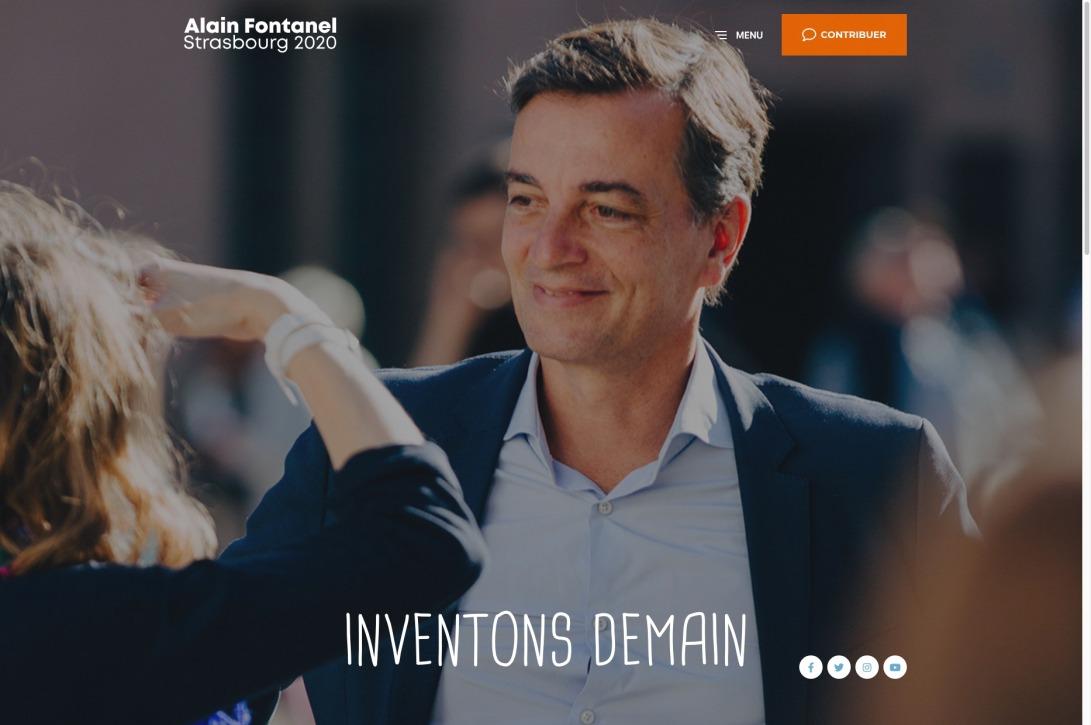 Alain Fontanel Strasbourg 2020 - Inventons demain