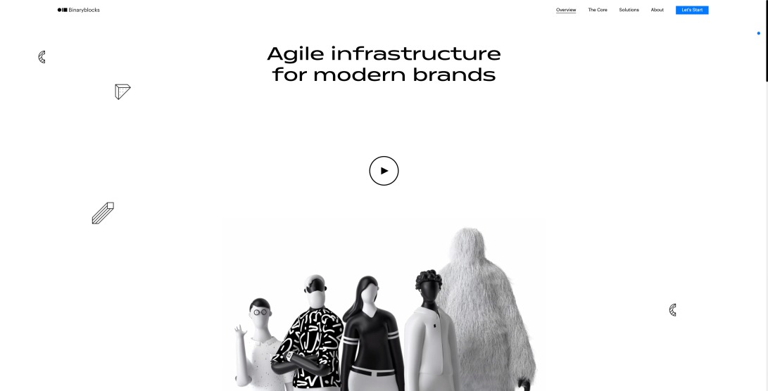 Binaryblocks | Agile infrastructure for modern Brands 🚀