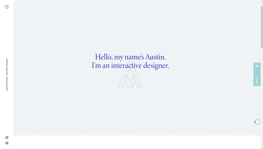 Austin McKinney | Interactive Designer