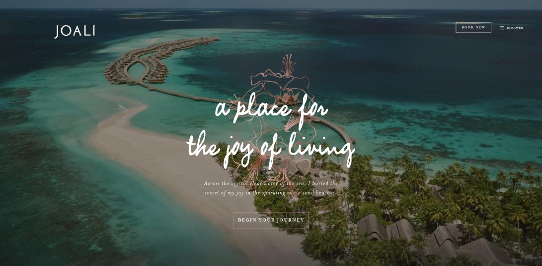 Maldives Resort on the Water | Joali Maldives