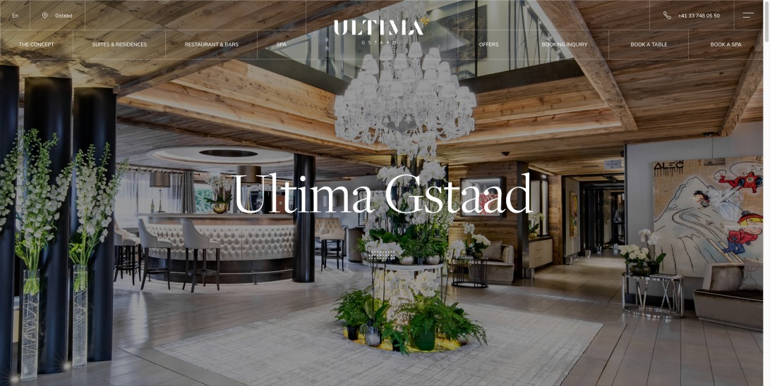 The Ultima Gstaad | Luxury Boutique Hotel