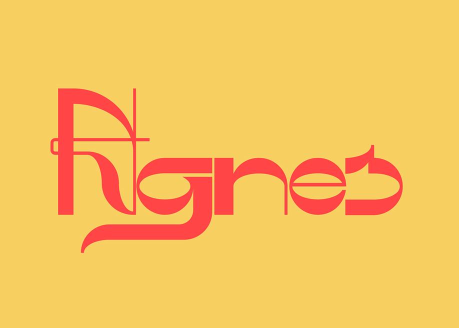 Agnes - display font
