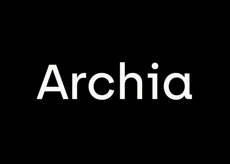 Archia regular font