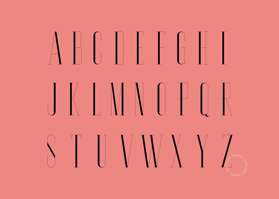 Moustique serif typeface