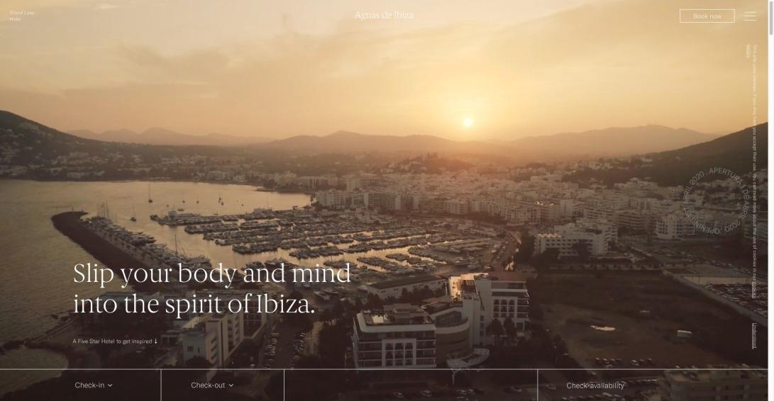 Hotel de lujo en Ibiza, Santa Eulalia