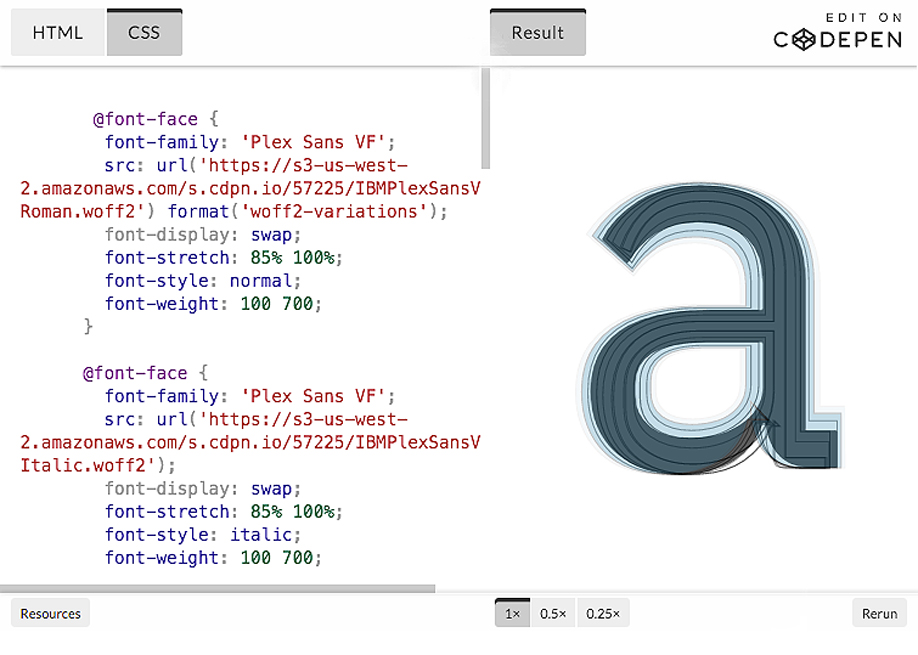 An Introduction to Variable Fonts