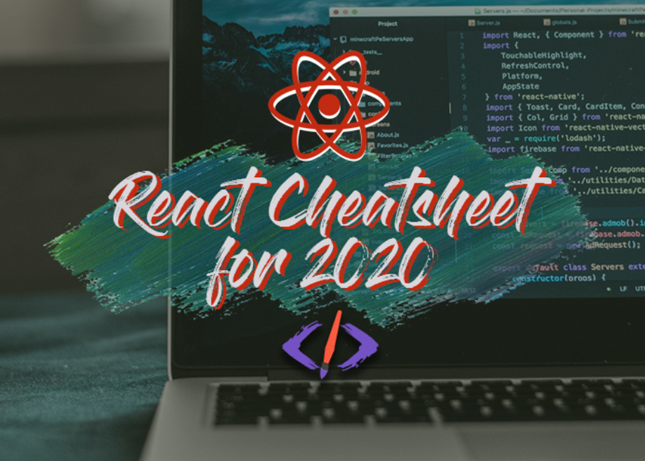 The React Cheatsheet for 2020 + real-world examples