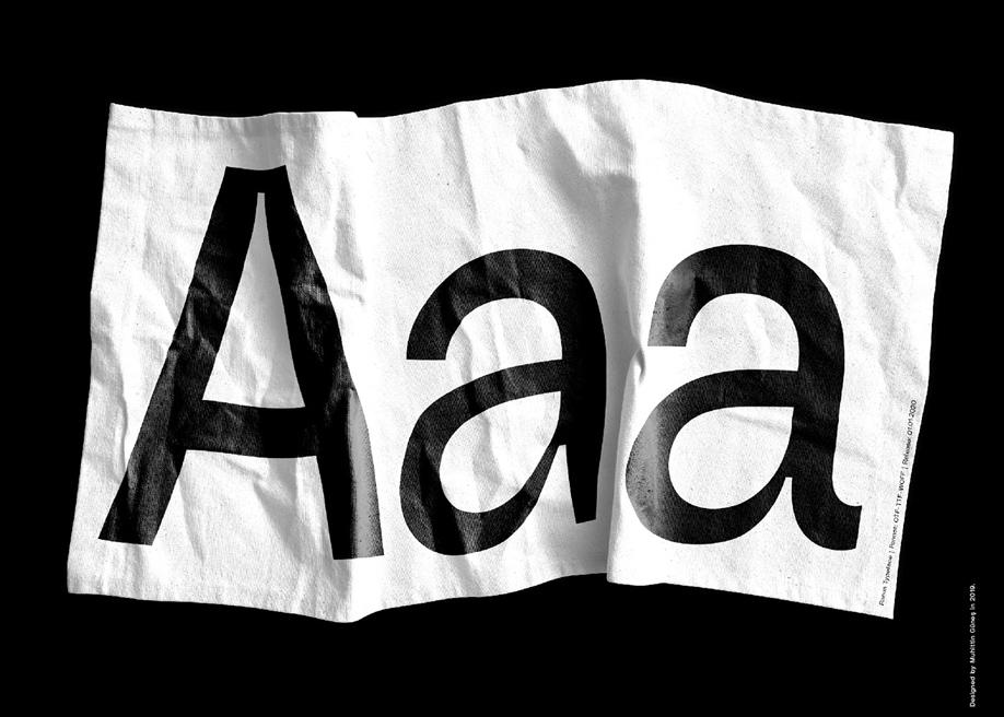 Ranua display typeface