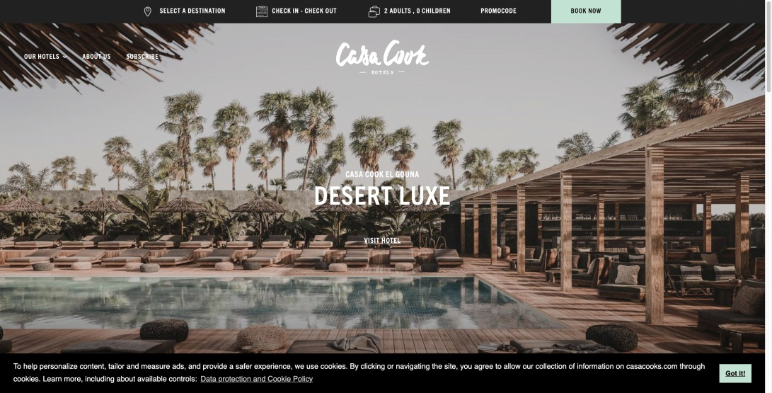 Casa Cook Hotels | Boutique Hotels with a laid-back spirit by Thomas Cook | Book now | Casa Cook Hotels