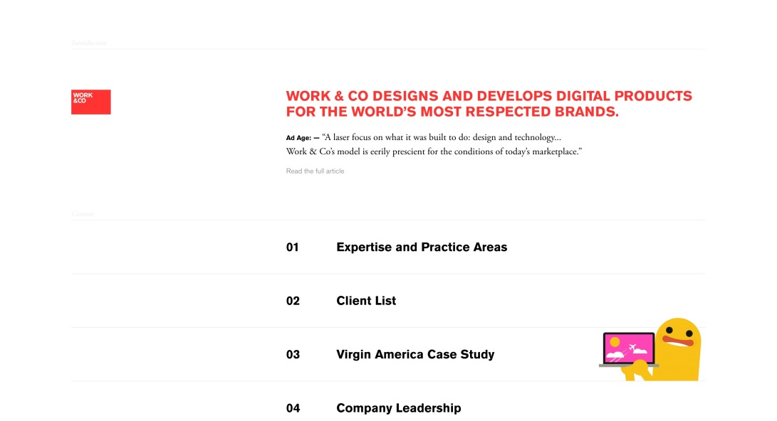 Work & Co - Digital Product Agency
