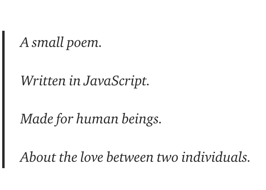 Learning To Code By Writing Code Poems