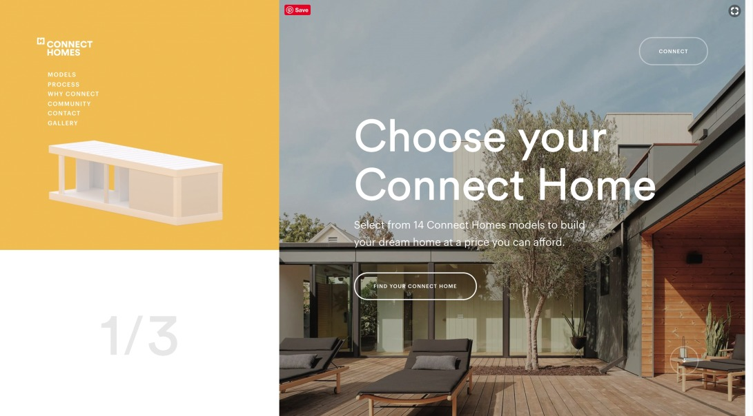 Connect home | Introducing the next generation of housing