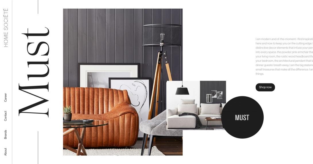 Home Société | Contemporary Home & Outdoor Furniture