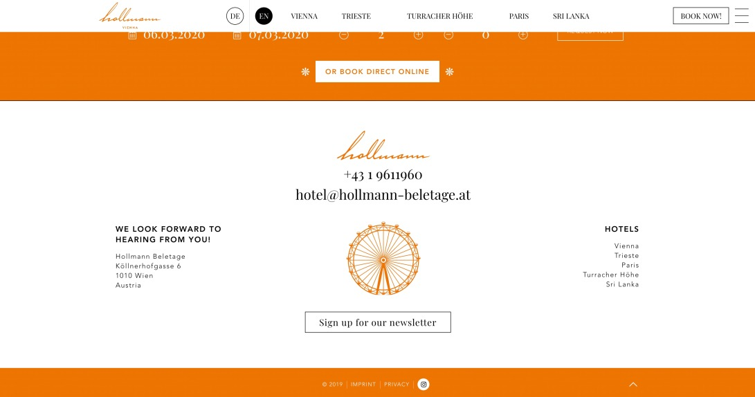 Hollmann Beletage Design & Boutique Hotel in Vienna - Hollmann