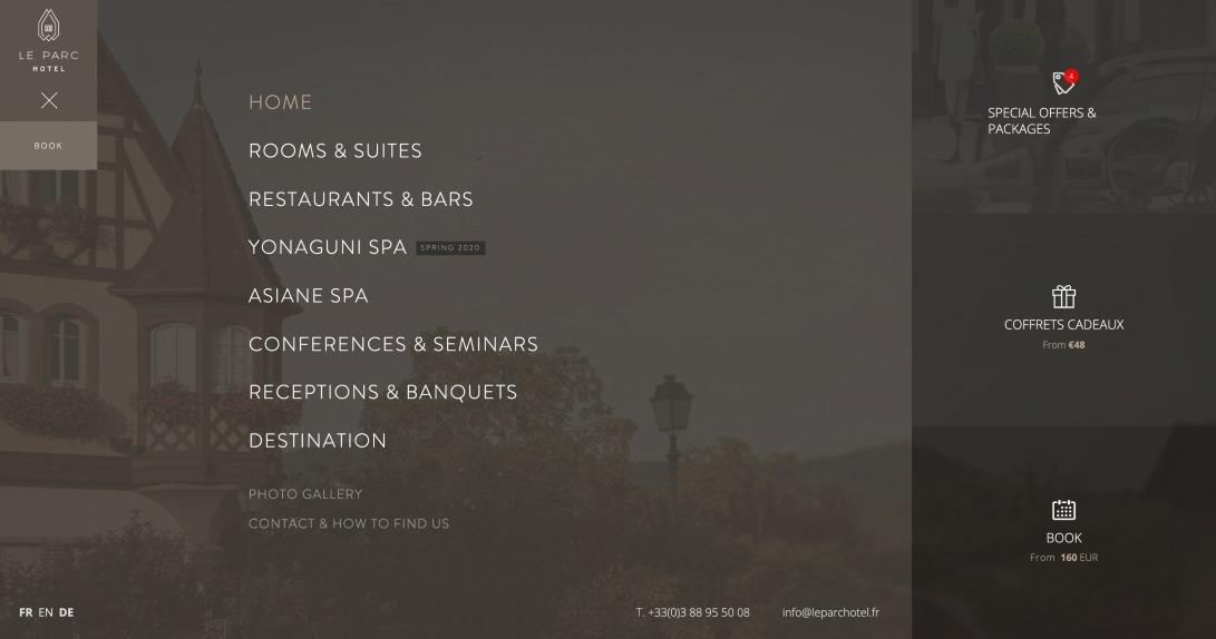 ~ Le Parc Hotel Obernai | Luxury 4-star Hotel & Spa in Alsace