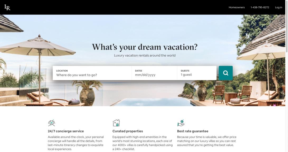 Luxury Villa Rentals & Vacation Rentals   Luxury Retreats
