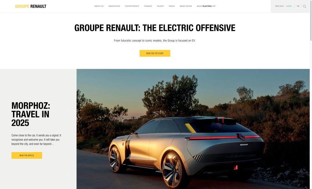 Groupe Renault, car manufacturer - Official website