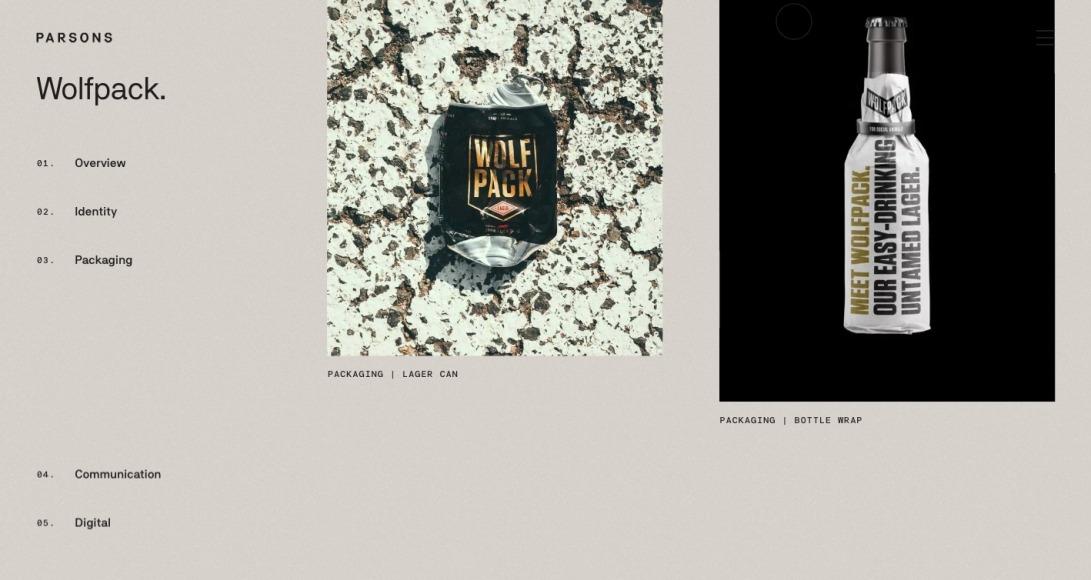 Parsons Branding | Wolfpack