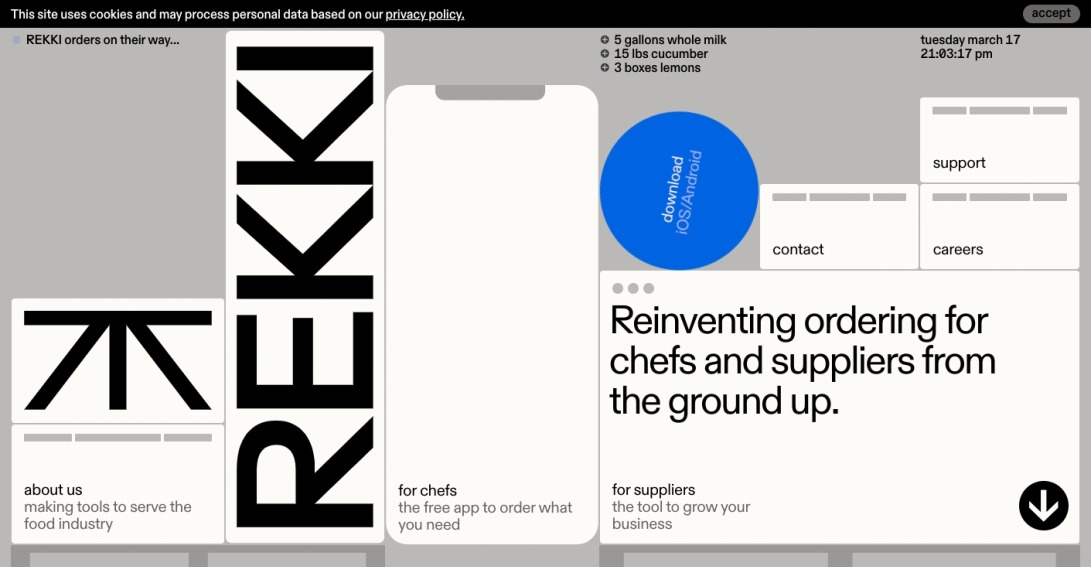 REKKI – Reinventing Ordering for Chefs and Suppliers