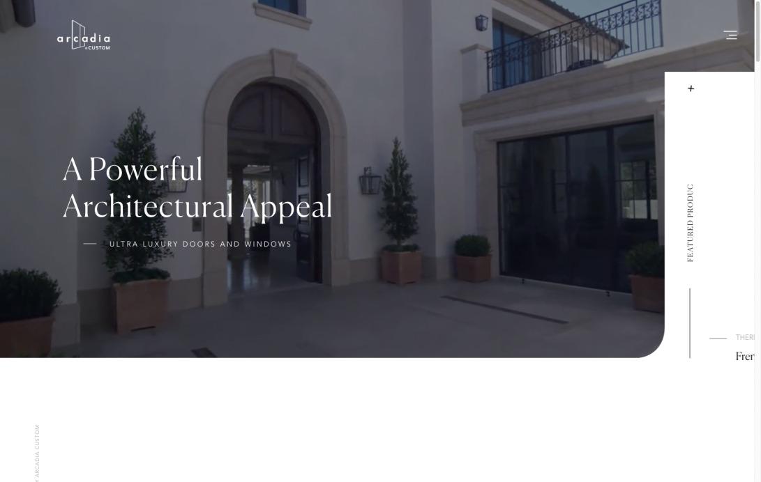 Arcadia Custom   High Performance Luxury Home Windows and Doors