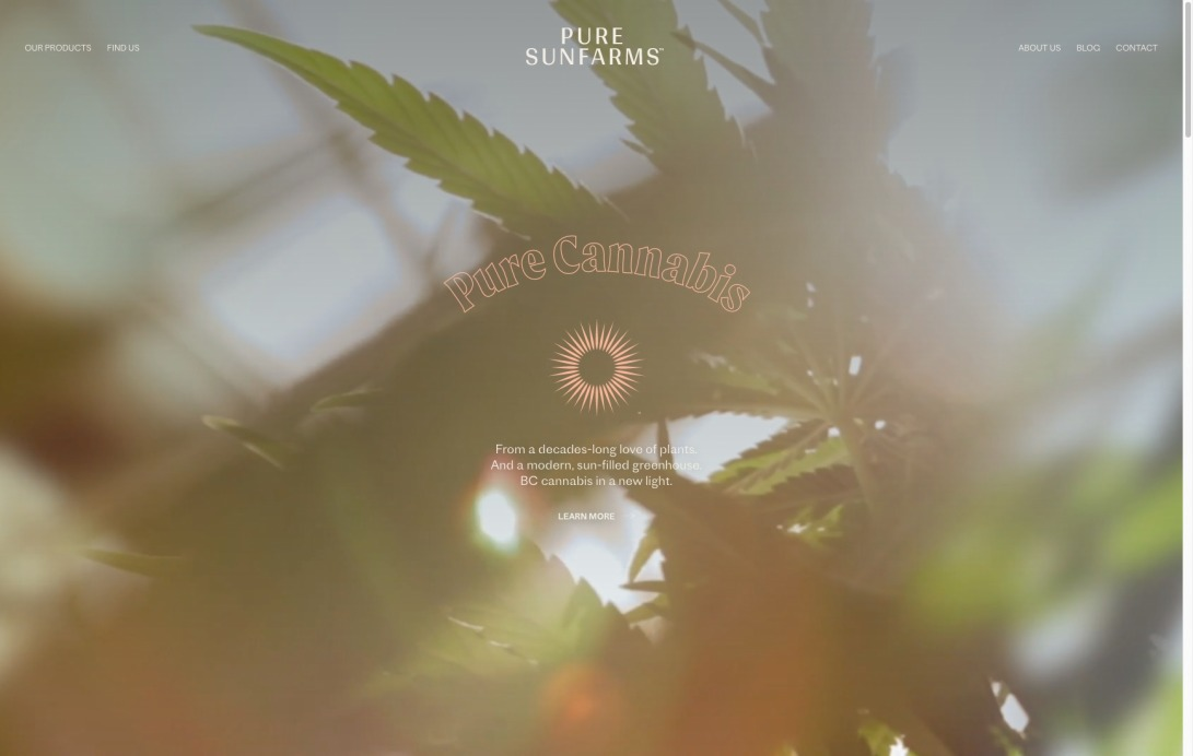 Pure Sunfarms — Providing BC cannabis to Canada