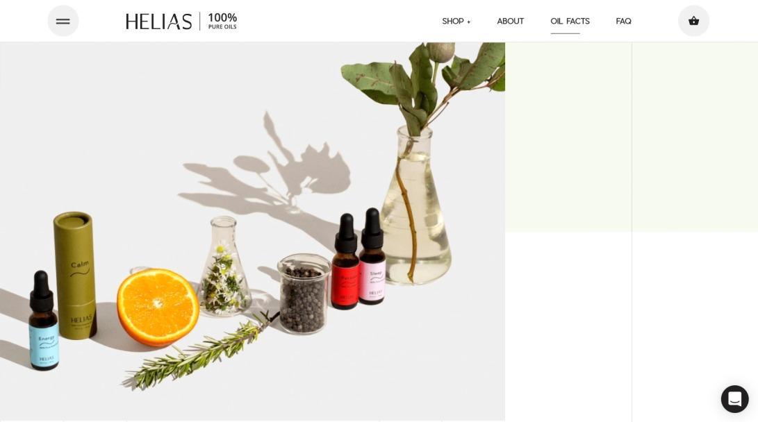 Helias | 100% Pure Oils | About Us – Helias Oils