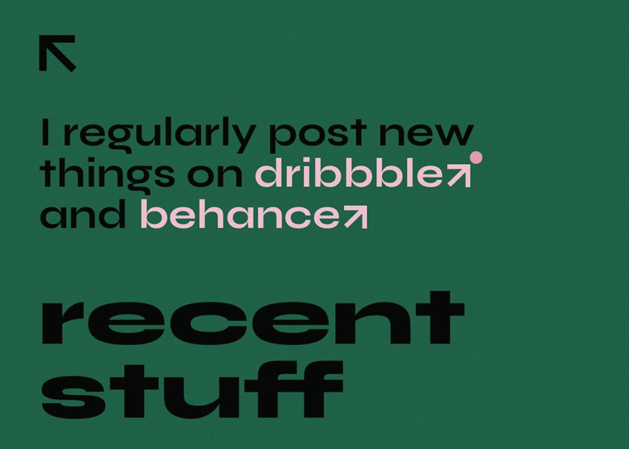 Typography color contrast - Vladimir Gruev