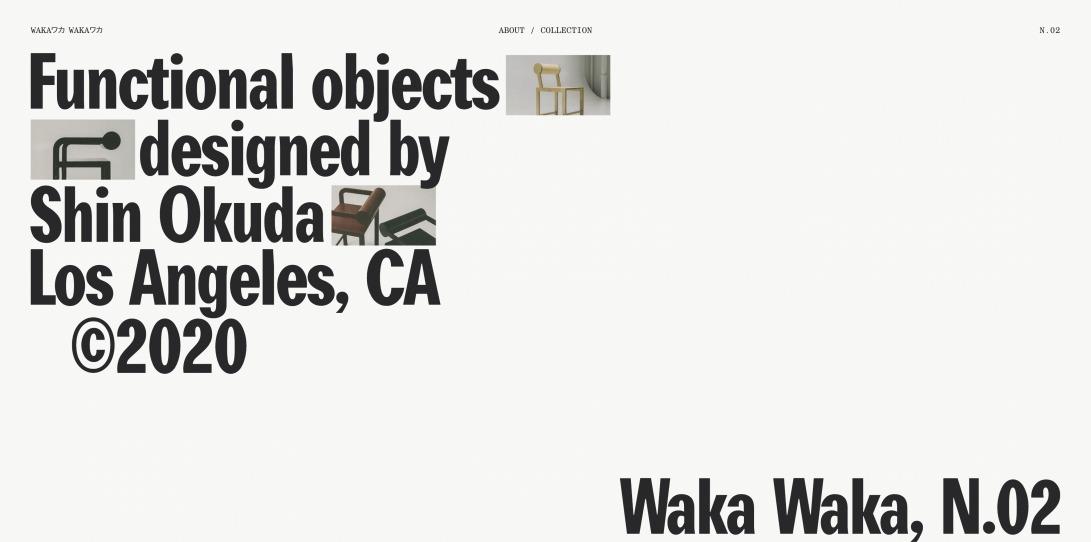 Waka Waka, Collection N.02