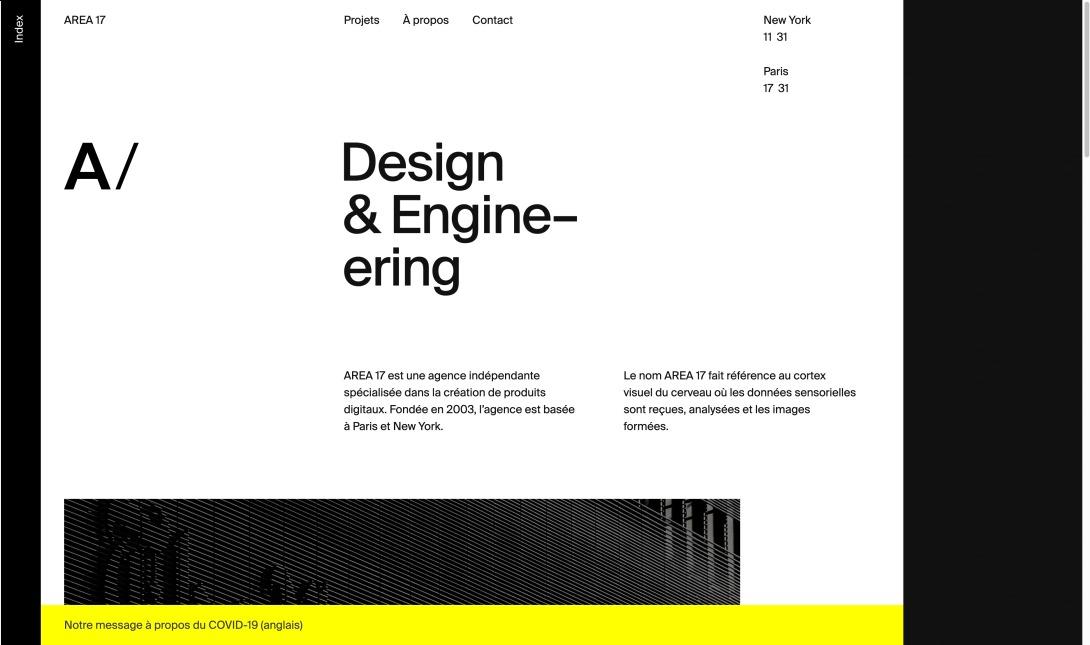 AREA 17 — Agence digitale