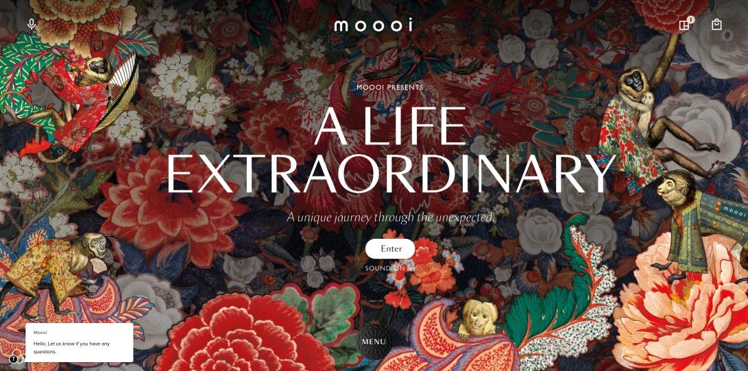 Homepage - Moooi