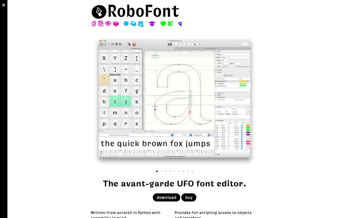 RoboFont ● RoboFont