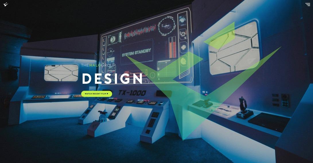 B2B Web Design - London Creative Events Agency Website - The Halo Group