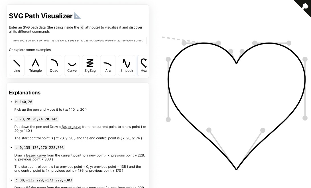 SVG Path Visualizer