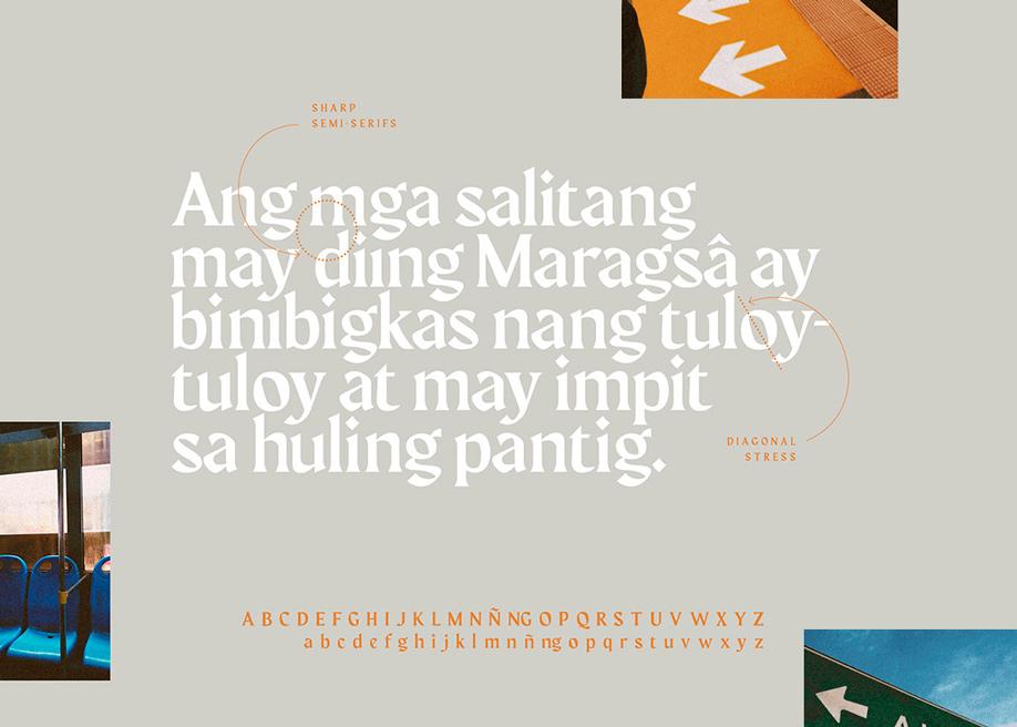 Maragsâ - Display typeface