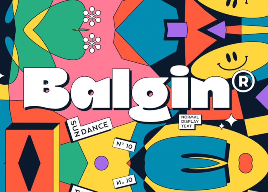 Balgin - Font Family