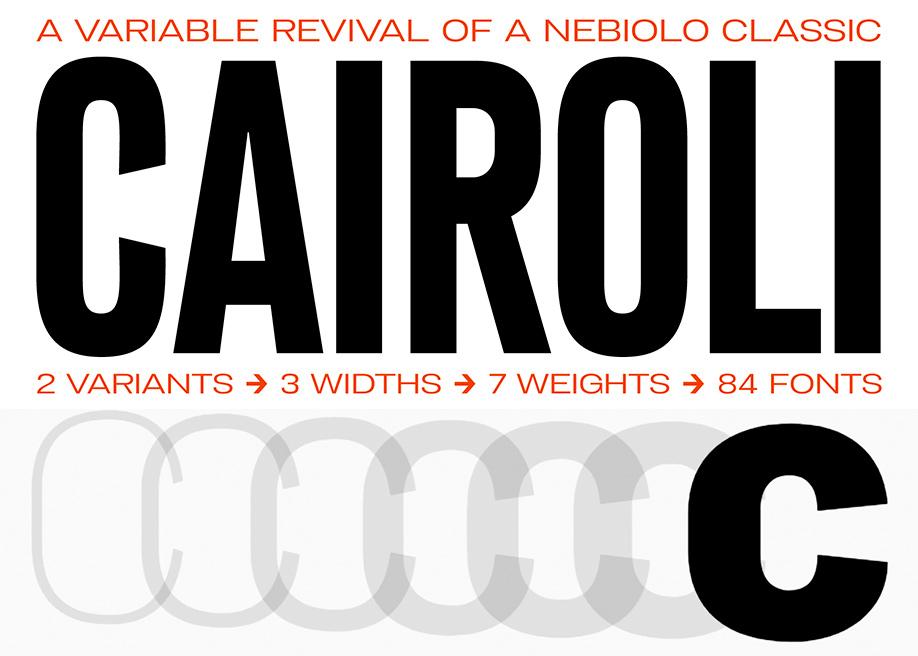 Cairoli Typeface