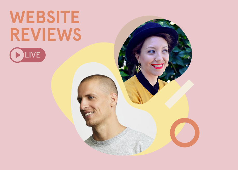 Live Design Jury Website Reviews ft. Chiara Aliotta and Daan Klaver | Hosted by Petr Tichy