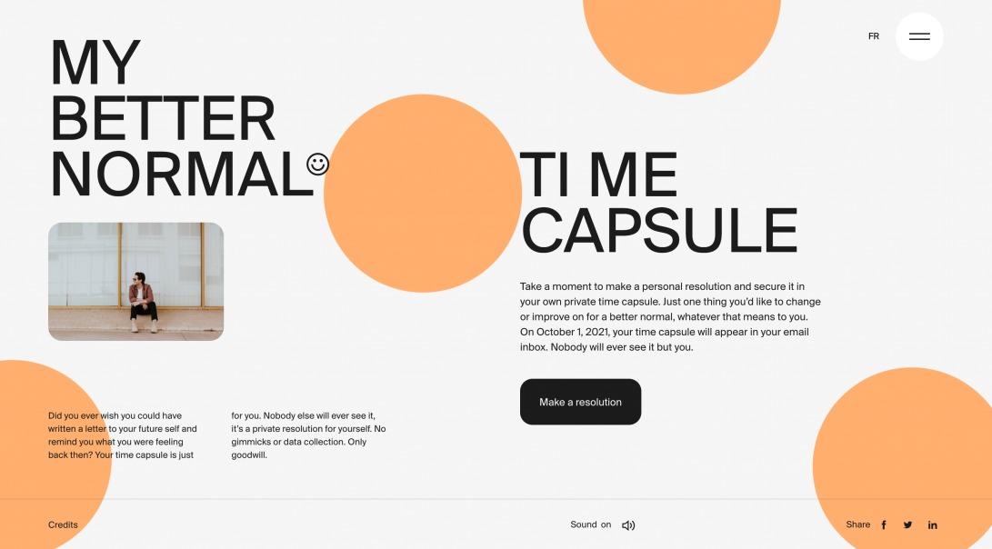 MY BETTER NORMAL | TI:ME CAPSULE
