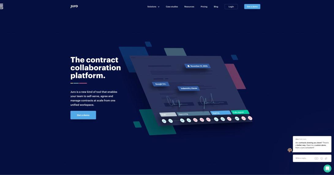 Juro | The contract collaboration platform